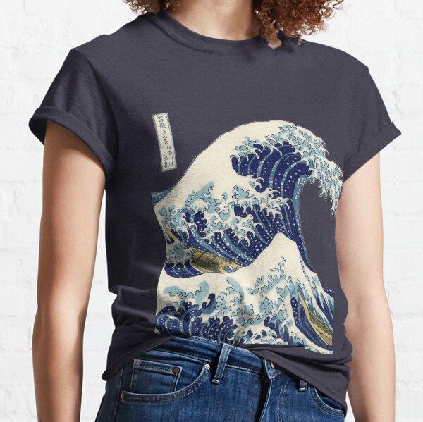 The Great Wave Off Kanagawa Transparent Classic T-Shirt