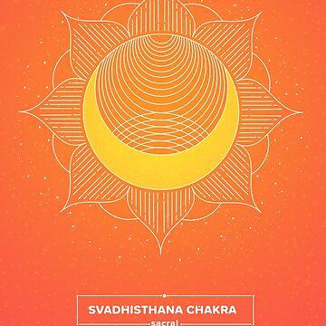 SACRAL CHAKRA - Svadhisthana  by llamadala