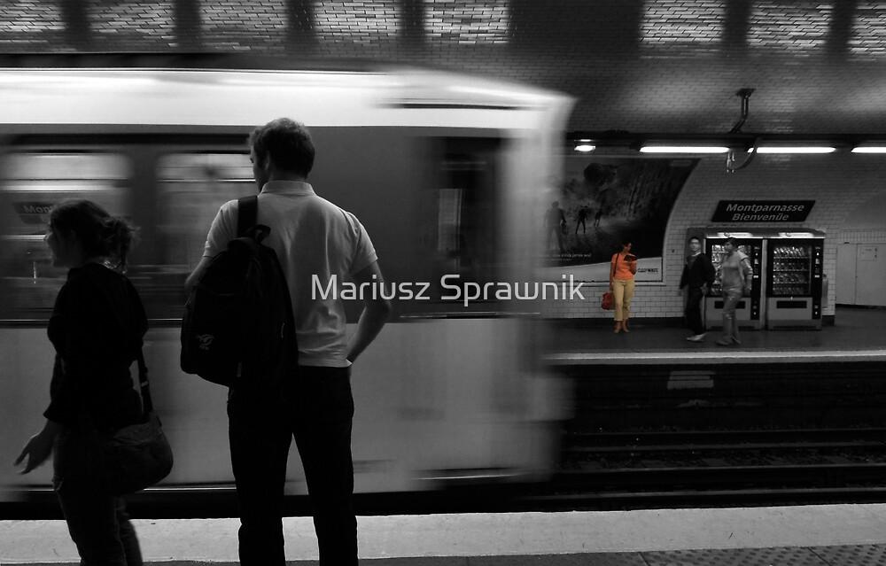 A day in Paris #1 by Mariusz Sprawnik