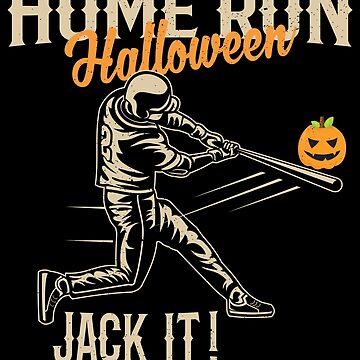 Funny Baseball Halloween Vintage Baseball Tshirt by MerchLovers