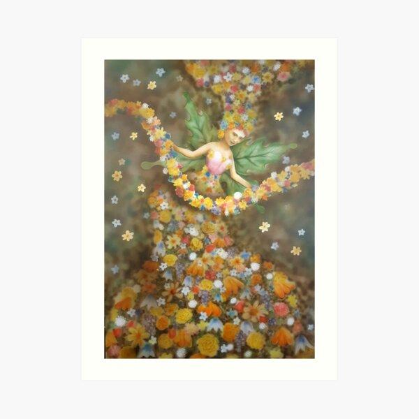 Flower Mother Art Print