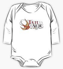 www.tatuarte.org bluebird logo One Piece - Long Sleeve
