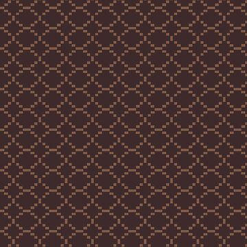 Chocolate Diamond Checkered Pattern by iheartclothes