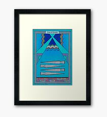 Four of Swords Framed Print