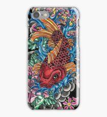 Japanese koi fish  iPhone Case/Skin