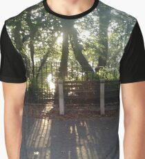 #road #tree #nature #park #trees #forest #green #landscape #path #summer #woods #way #leaves #alley #lane #grass #autumn #foliage #spring #leaf #wood #outdoor #walk #outdoors #countryside Graphic T-Shirt