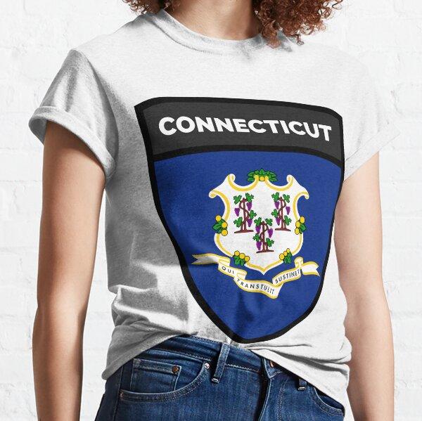 CONNECTICUT BADGE III Classic T-Shirt