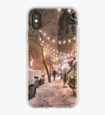 Vinilo o funda para iPhone East Village in the Snow - New York City