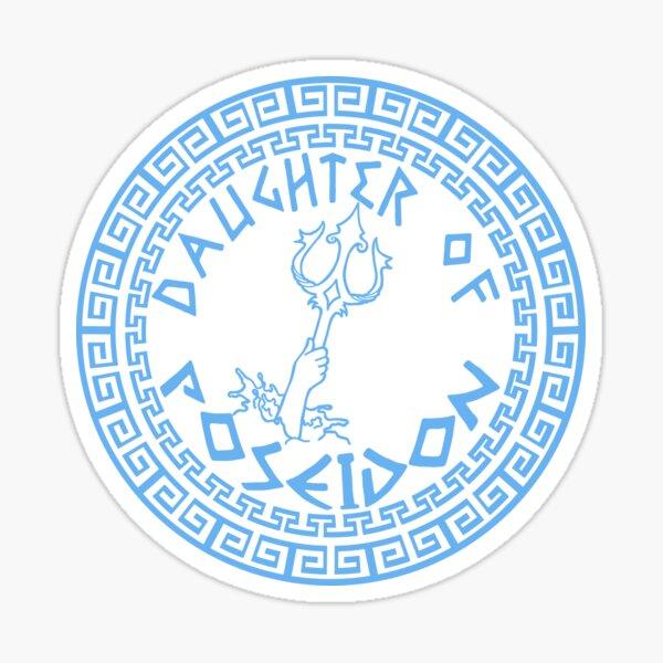 Daughter of Poseidon Sticker