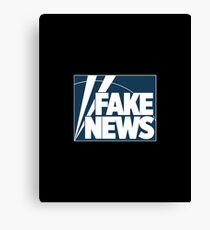 Fake News Channel Canvas Print