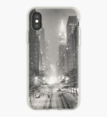 Vinilo o funda para iPhone A Winter's Tale - New York City