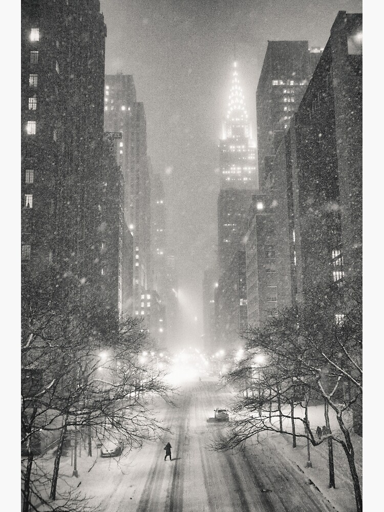 A Winter's Tale - New York City by vgucwaphoto