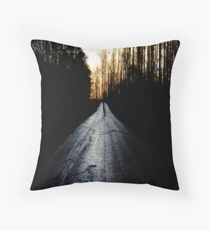 The Righteous Path Throw Pillow