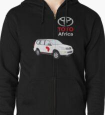 "Toto ""Africa"" Car Zipped Hoodie"