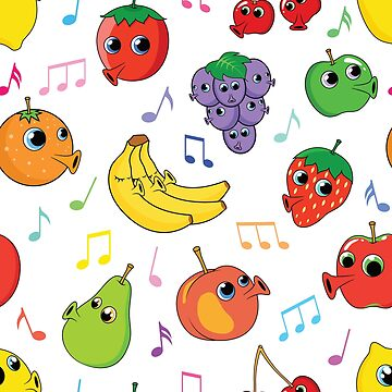 Musical Fruit by Fangpunk