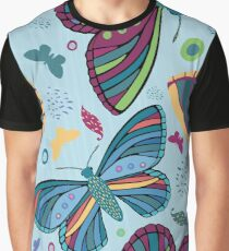 Butterfly Dance Graphic T-Shirt
