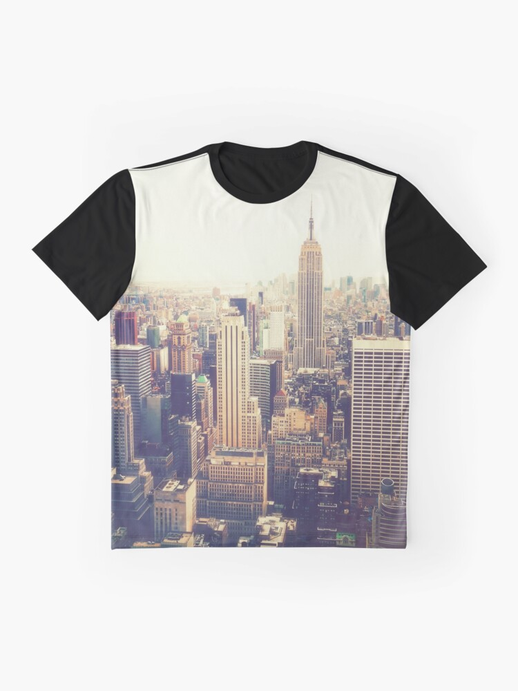 Vista alternativa de Camiseta gráfica Nueva York