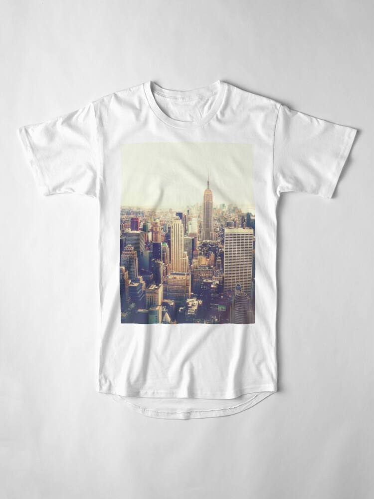 Vista alternativa de Camiseta larga Nueva York