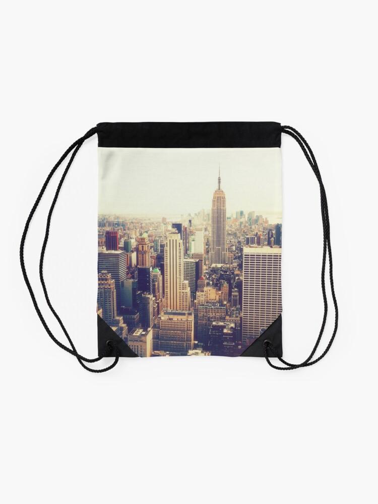 Vista alternativa de Mochila de cuerdas Nueva York
