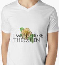QUEEN Margaery Tyrell Men's V-Neck T-Shirt
