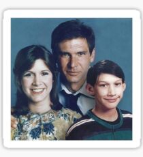Solo Family Portrait Sticker