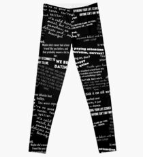 Toby/Happy Quotes Leggings