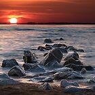 Sunrise at Sandy Point Park Maryland by DanGirardPhotos