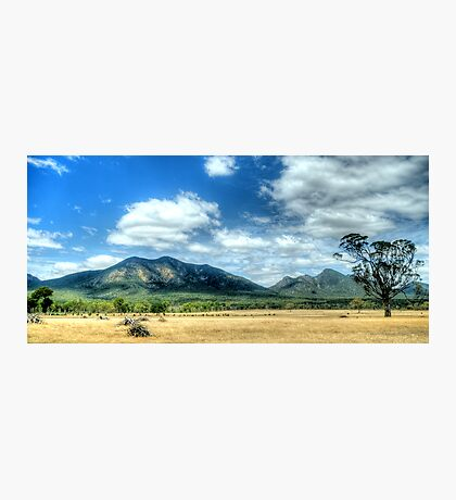 Sunburnt Country - The Grampians - The HDR Experience Photographic Print