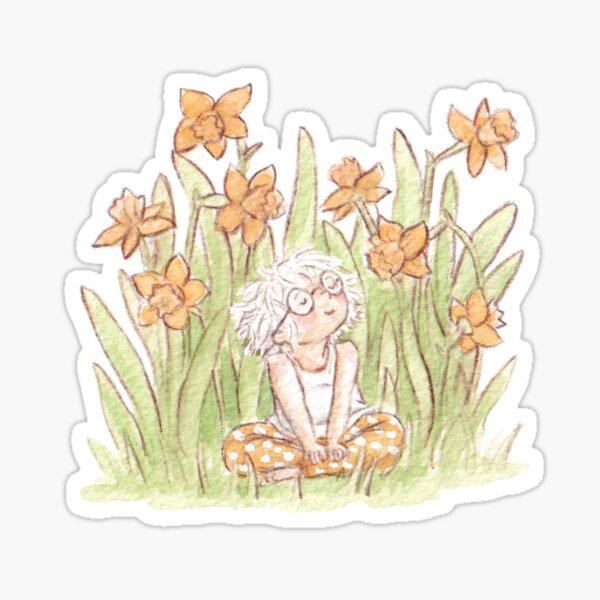 Daffodil girl Sticker