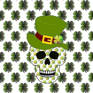 St Paddys Skull by kathlesa
