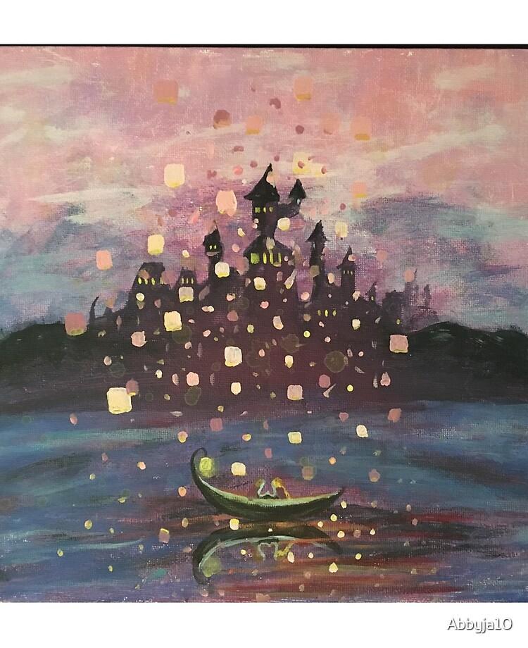 Tangled Lantern Painting Ipad Case Skin By Abbyja10 Redbubble
