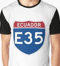 Ecuador Highway 35 Graphic T-Shirt