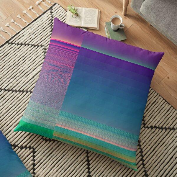 Targa Series: Purple 1 Floor Pillow