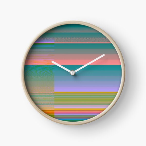 Targa Series: Teal 1 Clock