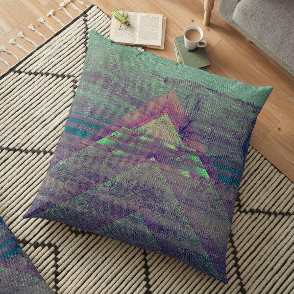 Chevron Series: Painted Desert Floor Pillow