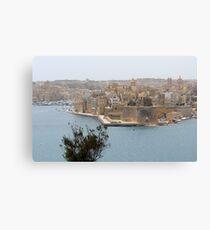 Senglea, Birgu, Malta Canvas Print