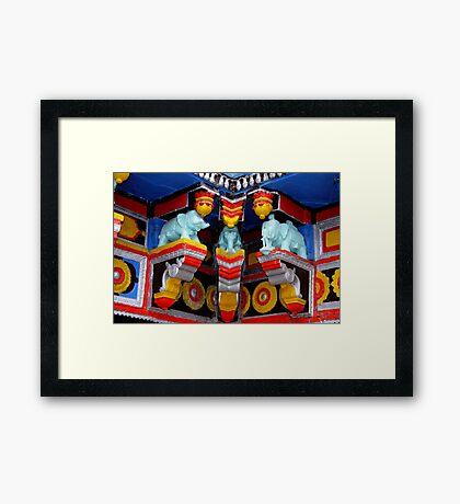 Badrinath Temple Framed Print