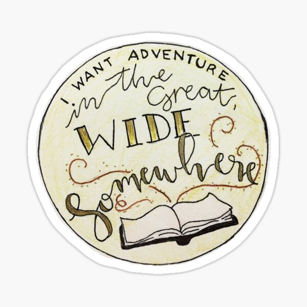 Great Wide Somewhere Sticker