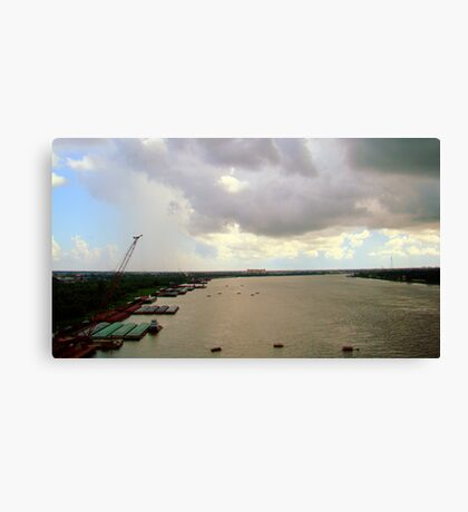 Mississippi River #2 Canvas Print