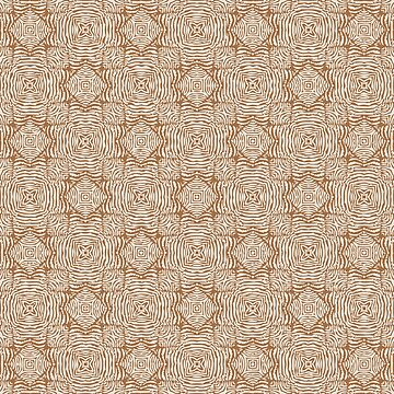 Plymouth Play Pattern - Camel/Tofu by Colette-vd-Wal