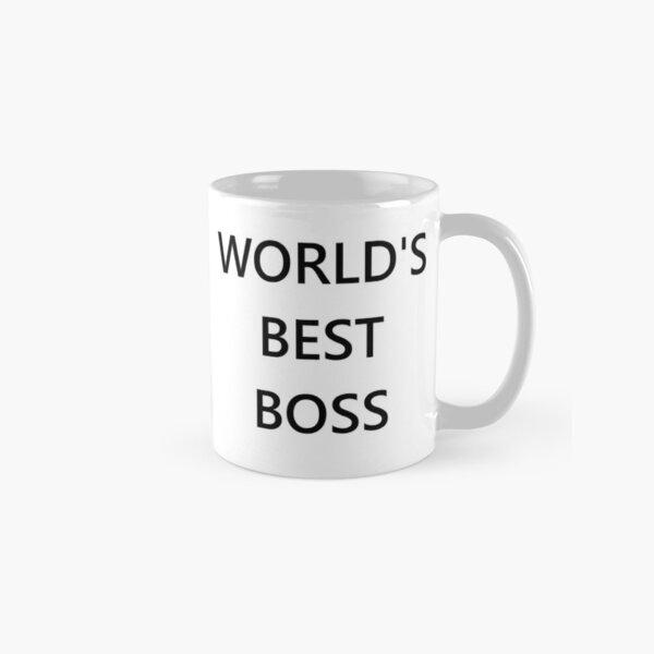 The World's Best Boss Office Classic Mug