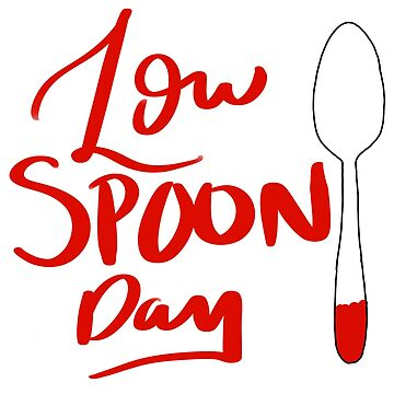 Low spoon day by zevt