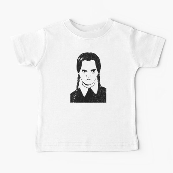 Wednesday Addams Baby T-Shirt