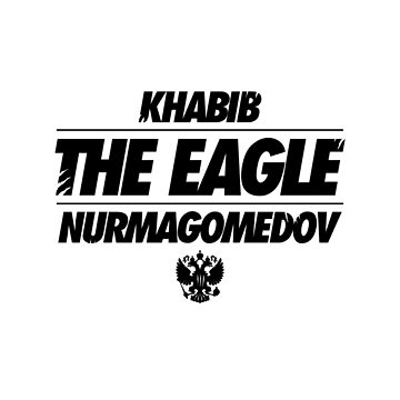 Khabib 'The Eagle' Nurmagomedov | Black by OGedits