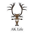 AK Life Caribou by InfiniteWonders