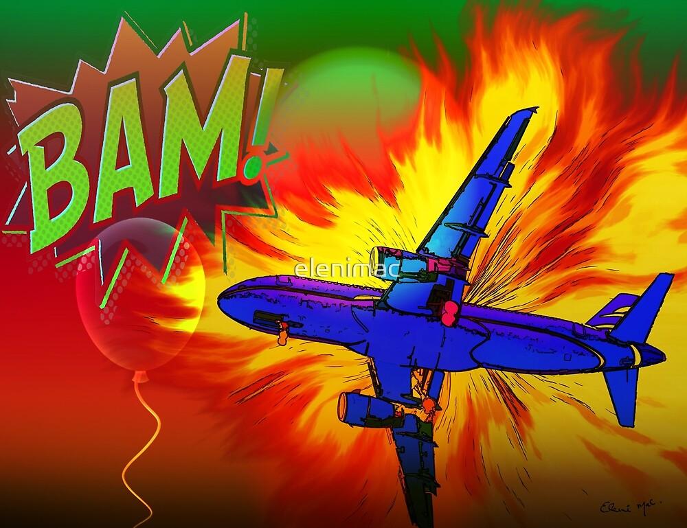 Comic Plane by elenimac