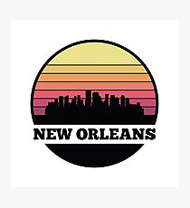 New Orleans skyline Photographic Print