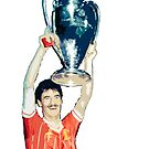 Ian Rush LFC Legend by Sean's Designs