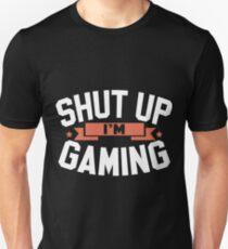 Camiseta unisex Cállate los juegos