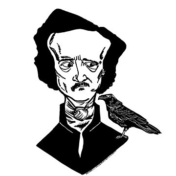 Poe and Crow by Pembertea